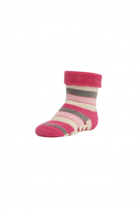Calzino Rose Stripes Baby Girl Sanpellegrino