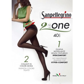 Collant 2 In One - 40 Sanpellegrino
